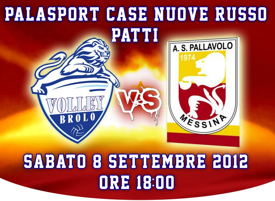 Incontro Volley Brolo - Messina - Palasport Patti
