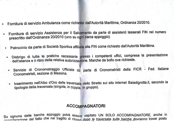 Documento traversata Beppe Grillo