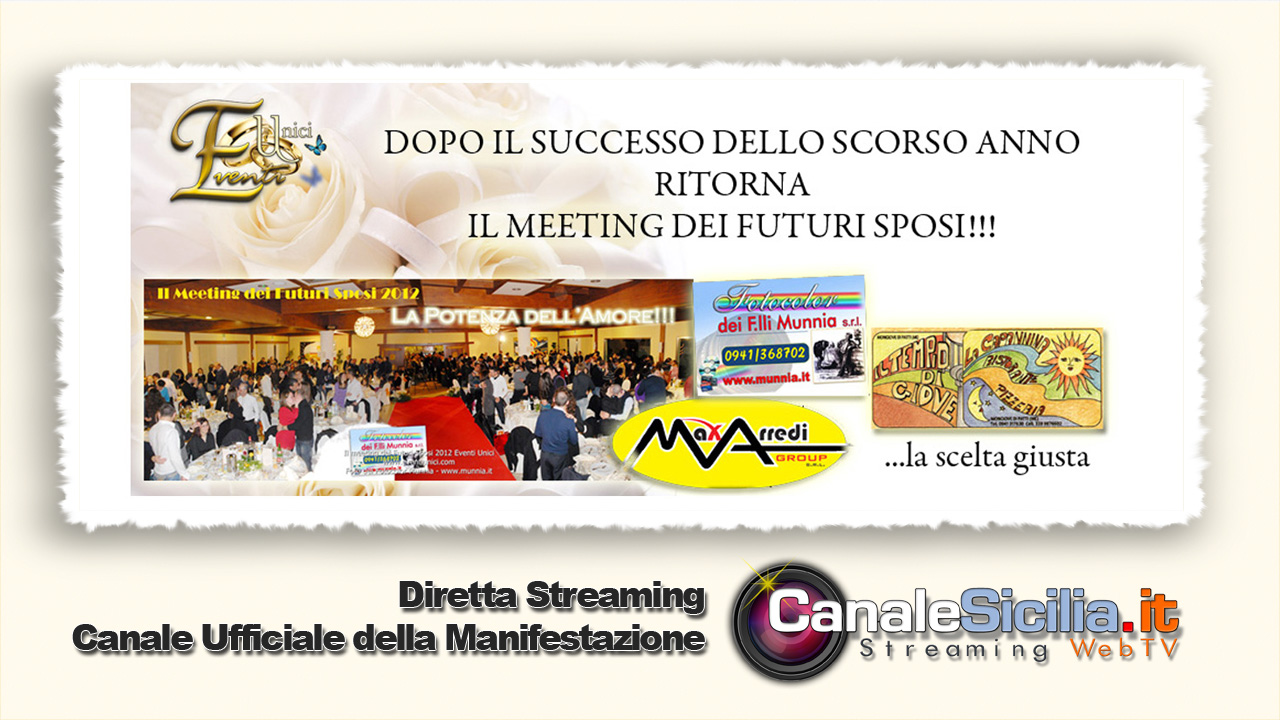 Diretta Streaming Meeting