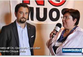 On. Giancarlo Cancelleri con CanaleSicilia