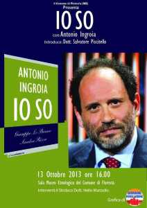 "Antonio Ingroia - ""Io so"""