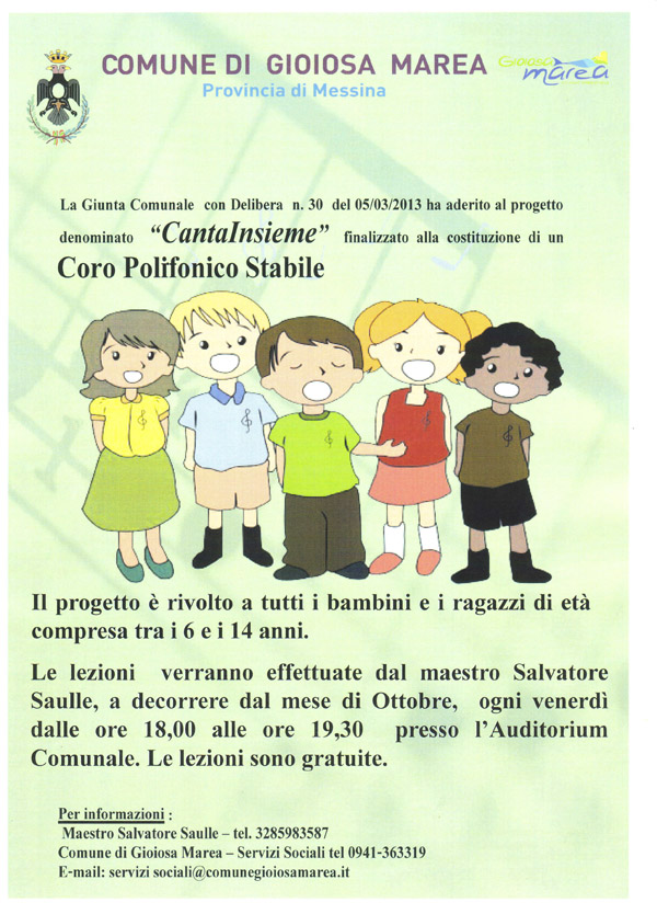 Progetto Cantainsieme