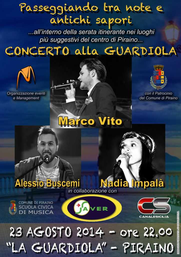 Concerto alla Guardiola di Piraino