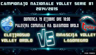 Incontro Volley Brolo VS Rinascita Volley Lagonegro