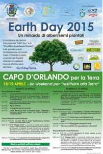 Earth day locandina