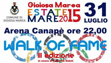 Walk of Fame 2015 Gioiosa Marea