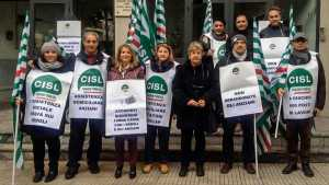 Protesta CISL Messina