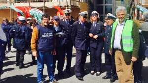 Sit-In Polizia Municipale Messina