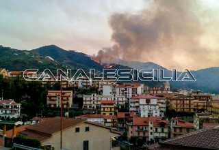 Incendio Piraino