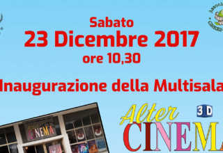 Inaugurazione Alter Cinema