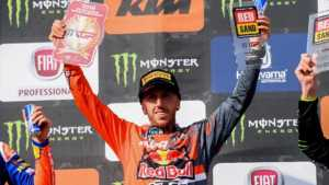 Tony Cairoli Podio
